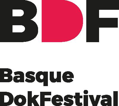 BDF Basque Dokumentary Festival logo negro
